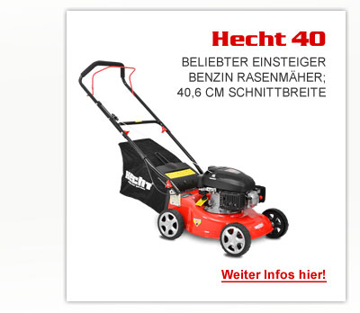 hecht 540 bs benzin rasenm her motorm her m her schnittbreite 40 6 cm ebay. Black Bedroom Furniture Sets. Home Design Ideas
