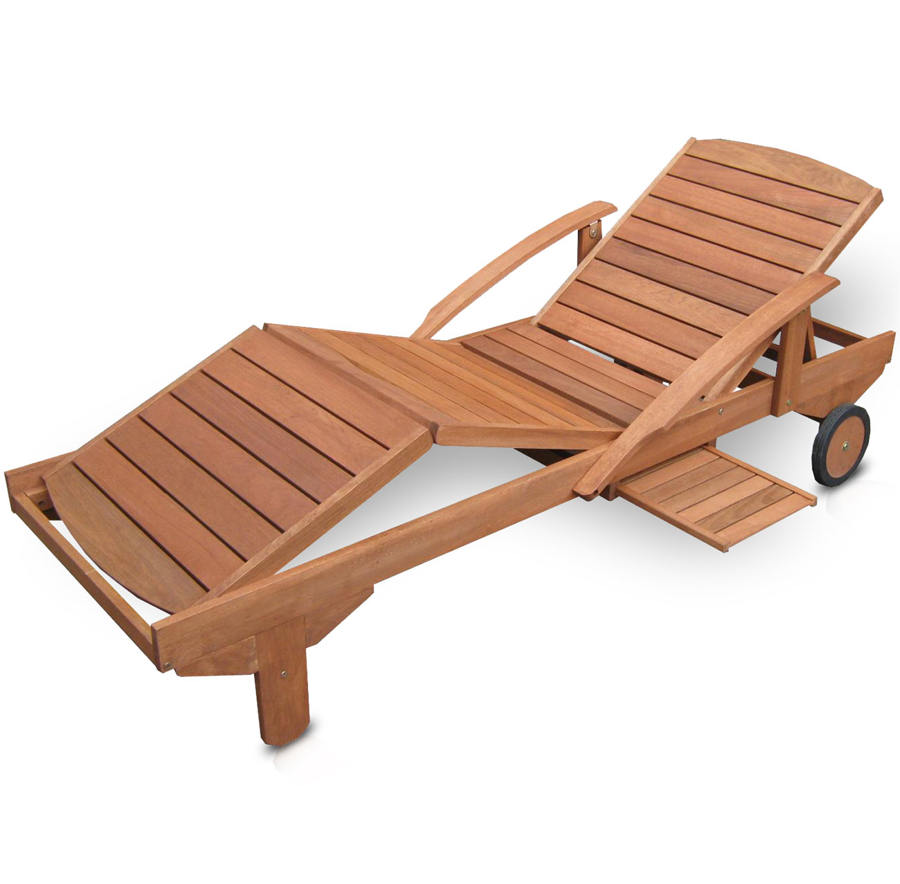 hecht era sonnenliege lounger gartenliege holzliege liege holz meranti ebay. Black Bedroom Furniture Sets. Home Design Ideas